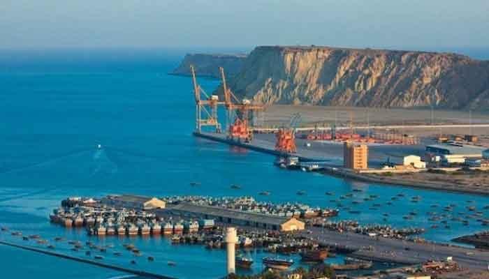 A Reuters image of the Gwadar Port.